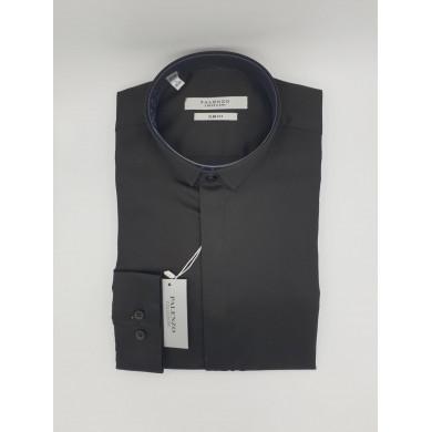 Chemise Palenzo Noire Col Dior
