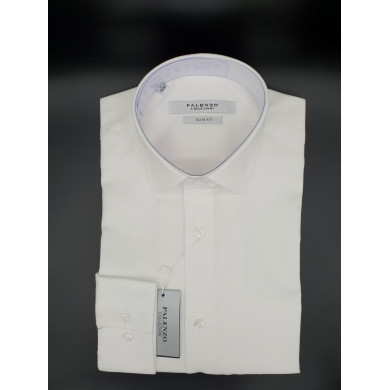 Chemise Palenzo Blanche Oxford