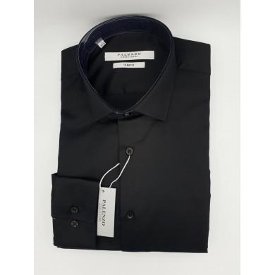 Chemise Palenzo Design Noire