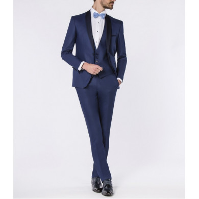 SMOKING SLIM FIT COLLEGNO BLEU