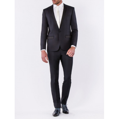 SMOKING SLIM FIT VENISE BLEU NUIT