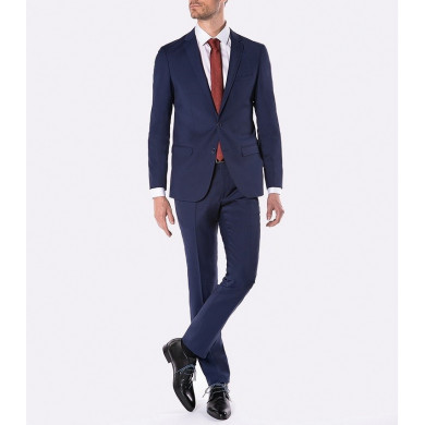 COSTUME SLIM FIT FLORENCE BLEU